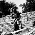 Retaining Wall and Stair, Lake Brownwood State Park, c. 1937