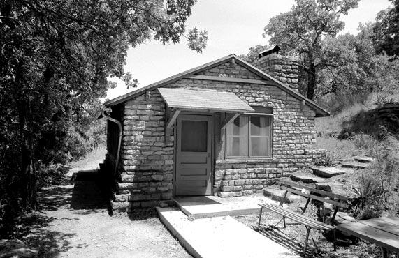 tpwd item cabin lake brownwood state park c 1963