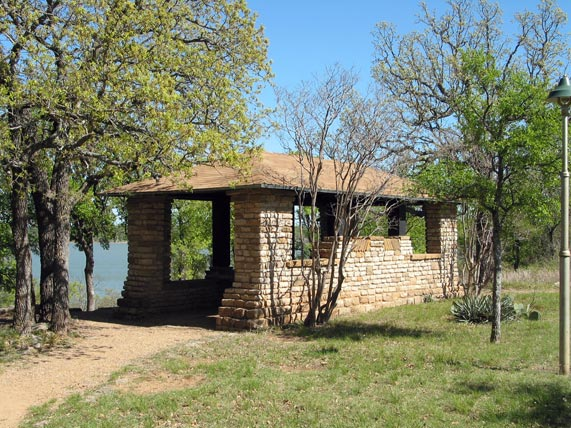 Tpwd Item Lookout House Lake Brownwood State Park C 1998