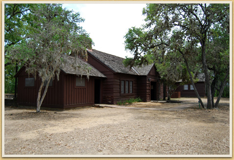 Combination Building, Lockhart State Park, 2008